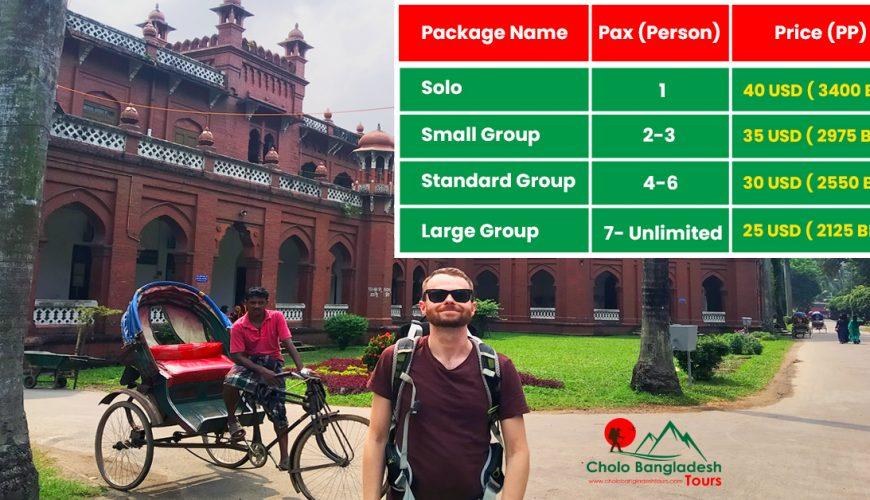 old dhaka rickshaw tour